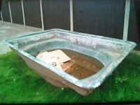 Fibreglass Pond 8.5' by 6', Deep 2.5,
