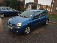 Renault Clio 1.2 , 8 month mot, f/s/h , spares or repair