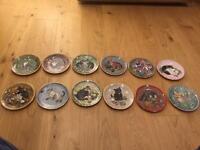Lesley Anne Ivory Cat Kitten plates
