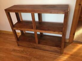 Solid wood piece of furniture