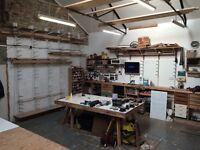 Furniture Workshop Bench Space Available