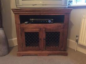 Solid wooden tv cabinet
