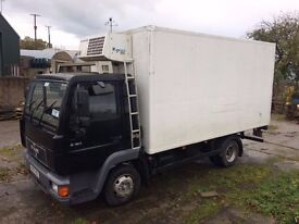 1998 Man Refrigerated Lorry - One Owner - THERMO KING FRIDGE - Everything Works - Insulated Dry Body