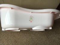 Pink baby bath FREE