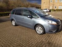 Citroen Grand C4 Picasso 2.0 HDi 16v Exclusive EGS 5dr Factory fitted sat nav