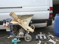 mtec plastering machine for sale