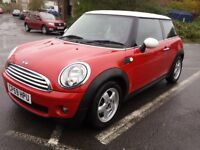 2009 MINI COOPER ONE OWNER FROM NEW SERVICE HISTORY FULLY LOADED WITH OPTIONS GREAT CAR