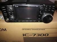 Icom ic 7300 hf transceiver new box'd