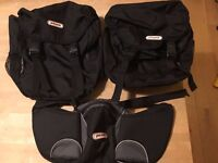 Phil and Ted's Sport buggy - accessories - 2xTravel Bag, 1x Handle Caddy