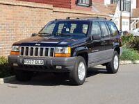 Jeep Grand Cherokee Lardeo 2.5 TD (LHD) LEFT HAND DRIVE + 1997/R REG + UK REG + HIGH SPEC + 1 OWNER+