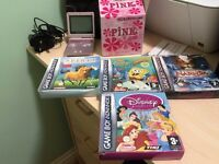 Gameboy Advance SP Pink Limited Edition