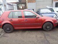 BREAKING - Volkswagen Golf S 1.6L Petrol Automatic 99BHP -- 1999- Wheel Nut / Bolt
