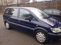 2003 Vauxhall Zafira 7 Seater Diesel 12 MONTHS MOT