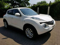 2011 61 NISSAN JUKE 5 DOORS - AUTOMATIC - LOW MILES - Full leather seats