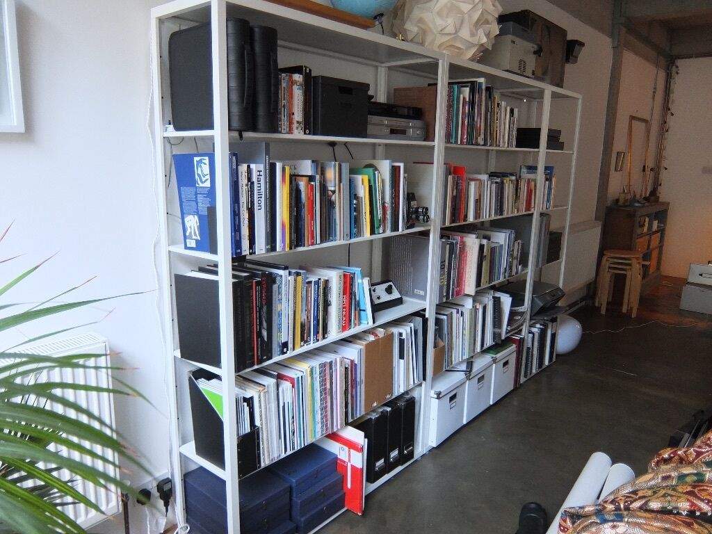 ikea fj lkinge shelving white in hackney london gumtree. Black Bedroom Furniture Sets. Home Design Ideas
