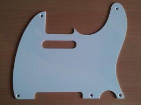 Fender Telecaster Pickguard 52 58 50s 5 Hole Parchment Aged White Vintage Pick Guard Scratchplate