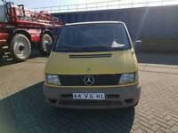 Left hand drive Mercedes Benz Vito double cabin