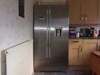 Beko Freestanding American Style Fridge Freezer A+ Frost Free