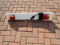 Trailer light board