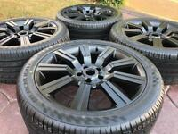 """20"""" Range Rover Stormer Discovery Refurbished Alloy Wheels & Tyre VW T5 BMW"""