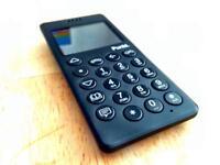 Punkt MP01 mobile phone black