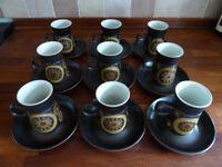 RETRO VINTAGE 1960/1970 DENBY ARABESQUE SAMARKAND TEA & COFFEE SET