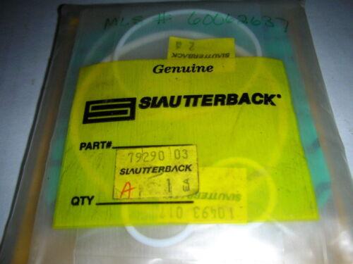 Slautterback Nordson Axco 79290-03 Teflon O-Ring Replacement Kit for V1 Pump NOS