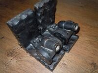 VINTAGE CANNON BOOKENDS