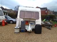 Sterling Eccles sapphire 5 berth 2005 full awning