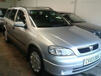 VAUXHALL ASTRA ESTATE 1.6 (AUTOMATIC) new mot