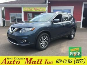 2014 Nissan Rogue SL/Leather/Sunroof