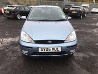 blue ford focus edge
