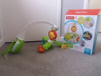 Musical mobile fisher price for sale
