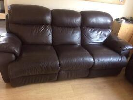 3 seater & 2 seater recliner sofa set