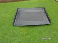 "Ford ""C "" Max 2010 Model Rear Boot Load Liner Black With Carpet Centre"