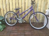 MOUNTAIN BIKE FOR SALE, LADIE'S / GIRLS STYLE.