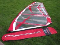 Tushingham Dino 3.5 Junior Windsurfing Sail - Get the kids blasting in higher winds!