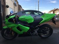 2005 Kawasaki ZX6R (636) ***Immaculate. Only 7101miles + Extras***