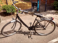 7 Speed City Dutch Style Bike 51cm Size VSF German with Internal gears