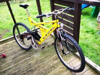 MOUNTAIN BIKES FOR SALE ADULT SIZE