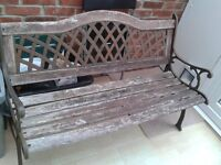 Old Garden Bench -DELIVERY AVAILABLE