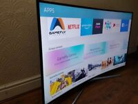 SAMSUNG 65-inch CURVED SUPER Smart 4K ACTIVE HDR LED TV-65MU6200,Wifi,TVPLUS,EXCELLENT CONDITION