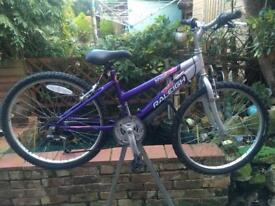 Raleigh Krush girls Mountain bike