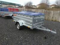 NEW Car trailer 7.7 x 4.2 double broadside £870 inc vat
