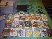 Xbox 360 and 21 games great condition £100