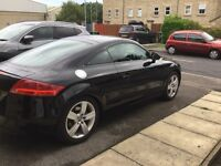 Immaculate Black Audi TT 2.0l TFSI with very low mileage.