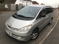 Toyota Estima 2.4L,5dr, Petrol+LPG Automatic, Imported, 8 seaters..Leicester