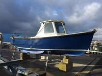 BOAT DEISEL FISHING WHEELHOUSE PROJECT RUNNING