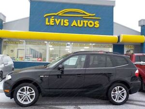 2008 BMW X3 3.0 SI AWD CUIR TOIT PANORAMIQUE EXTRA PROPRE 1351