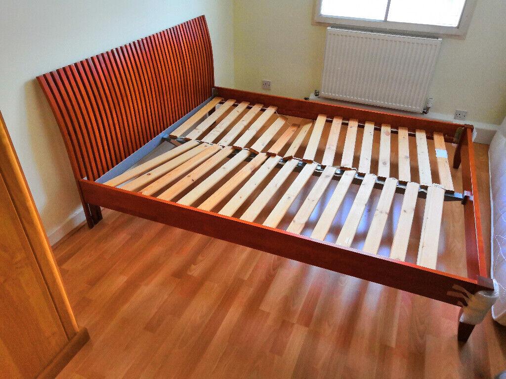 Sidetable 200 Cm.King Size Bed Frame And Bed Side Table In Bishops Stortford Hertfordshire Gumtree